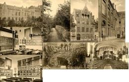 CP   Etterbeek   ---   Institut St Stanislas  --  8 Cartes Avec Vues Diverses : Bâtiments, Jardins, Classes... - Etterbeek