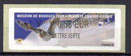 Vignette LISA  // Planete Chauve Souris  //  Bourges 2013 - 2010-... Viñetas De Franqueo Illustradas
