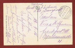 Löwen Belgien Zichtkaart Dijle Te Leuven Met Feldpost Naar Duitsland 19/9/1916 2 Scan - WW I