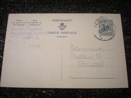 Entiers Postaux Belge 1,5fr Sans Piblicité, Cachet Zellik (i5) - Entiers Postaux