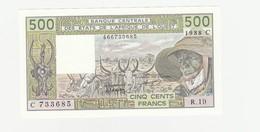 Burkina Faso 500 Francs 1988 UNZ - Burkina Faso