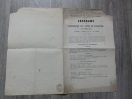 Zomergem *  (Document 1850) Prijskamp Voor Nederduitsche Tael-, Letter En Tooneelkunde Te Zomerghem - Zomergem