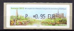 Vignette LISA  // FFAP 86e Congrés  //  Amiens 2013 - 2010-... Illustrated Franking Labels