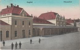 AK Cegléd Zieglet Pályaudvar Vasutallomas Bahnhof Gare Railway Station Österreich Ungarn Magyarorszag Hongrie Hungaria - Ungarn