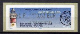 Vignette LISA  // 37e Marcophilex  // Ouistreham 2013 - 2010-... Abgebildete Automatenmarke