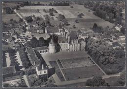 Carte Postale 36. Azay-le-Ferron Et Son Chateau Vue D'avion Trés Beau Plan - France