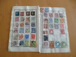 Collection England One Penny Dont Classiques  Tout état Collée Sur Album Forte Côte  Avant 1920 A Saisir!!!!!!!!!!!!!! - Grande-Bretagne