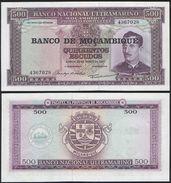 Mozambique P 118 - 500 Escudos 1976 - UNC - Mozambico