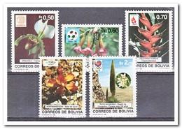 Bolivië 1989, Postfris MNH, Flowers - Bolivië
