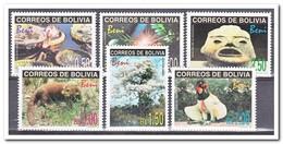 Bolivië 1998, Postfris MNH, Flora, Fauna - Bolivië