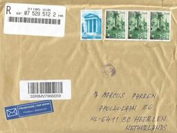 Croatia 2018 Osijek Augustus Roman Temple (1. Century A.D.) Pula Sisak Town Registered Cover - Kroatië