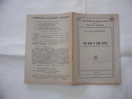 LIBRO DI PROPAGANDA ALLA GLORIA DI CESARE BATTISTI  COMANDO TRUPPE ALTIPIANO STATO MAGGIORE. - Guerre 1914-18