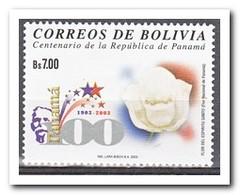 Bolivië 2003, Postfris MNH, Flowers - Bolivië