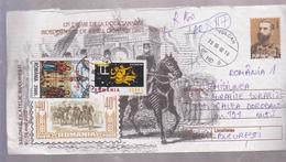 KING CAROL I, COVER ROMANIA 2002,  CIRCULATED VULCAN COUNTY HUNEDOARA AT B UCURESTI 2002 - Tarjetas – Máximo