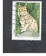ITALIA REPUBBLICA  -  2002  LINCE                   - USATO ° - 6. 1946-.. Repubblica
