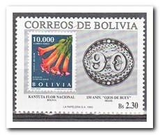 Bolivië 1993, Postfris MNH, Flowers, Stamp On Stamp - Bolivië