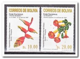 Bolivië 2001, Postfris MNH, Flowers - Bolivië