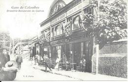 CPA  France   92  Haut De Seine  Gare De Colombes  Brasserie Restaurant Du Cadran - Colombes