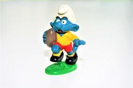 Smurfs Nr 20065#13 - *** - Stroumph - Smurf - Schleich - Peyo - Rugby - Smurfs