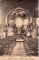 Frévent P.-de-C. - Intérieur De L'Eglise St. Hilaire - Autres Communes