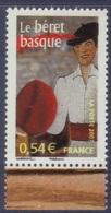 4096 Le Béret Basque - Portraits De Régions 10 - France à Vivre (2007) Neuf** - France
