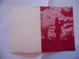 WW2 ASSOCIAZIONE NAZIONALE BERSAGLIERI BOLOGNA BIGLIETTO AUGURI DI BUONE FESTE. - Militari