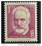 """FR YT 304 """" Victor Hugo """" 1935 Neuf* - Frankreich"""