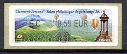 Vignette LISA  // Salon De Printemps  // Clermont Ferrand 2014 - 2010-... Illustrated Franking Labels
