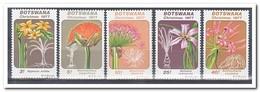 Botswana 1977, Postfris MNH, Flowers, Christmas - Botswana (1966-...)