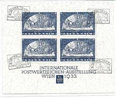 5002i: Altfälschung Wipa- Block 1933 Gestempelt (fake-faux-forgery) - Used Stamps