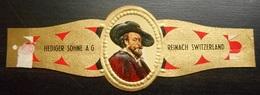 V38 Bague Bagues Cigare Cigares  Hediger Sohne Reinach Switzerland 1 Pièce(s) - Cigar Bands