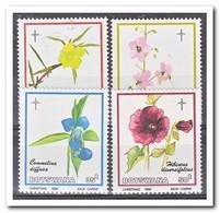 Botswana 1986, Postfris MNH, Flowers, Christmas - Botswana (1966-...)