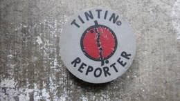 GOMME TINTIN - REPORTER - HERGE - Tintin