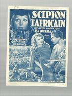 """-**""""""""SCIPION  L'AFRICAIN **-"""""""" Une  Oeuvre  GIGANTESQUE """""""" - Publicité Cinématographique"""
