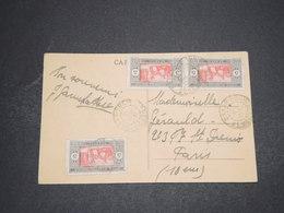 SÉNÉGAL - Affranchissement De Dakar Sur Carte Postale En 1931 - L 16207 - Sénégal (1887-1944)