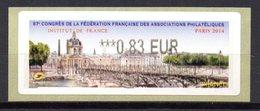 Vignette LISA  // FFAP 87e Congrés  // Paris 2014 - 2010-... Illustrated Franking Labels