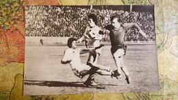 """Dinamo"" Minsk Team Vc FK Dinamo Kiev (1986) - Football - Soccer  - Old USSR Postcard -  -  From 1986 Set - Fussball"