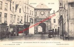 Antwerpen In 1866 - Porte Kipdorp - Actuellement Marché St.Jacques Place De La Commune - G.Hermans Nr. 20 - Antwerpen - Antwerpen