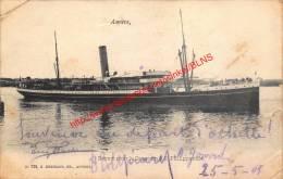 1903 - Départ Pour Le Congo Du S.S. Philippeville - G.Hermans Nr. 728 - Antwerpen - Antwerpen