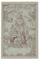 Entier Postal Timbré Sur Commande, Poste Locale Berlin (1887) :  Thème  Horloge Minuit, Ange, Cloche, Corbeau - Relojería