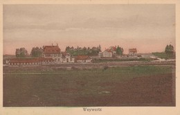Weywertz , Wevercé  (Butgenbach ),panorama De La Gare En Couleur - Bütgenbach