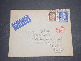 ALLEMAGNE - Enveloppe De Kiel Pour La France En 1943 Avec Contrôle Postal - L 16215 - Allemagne