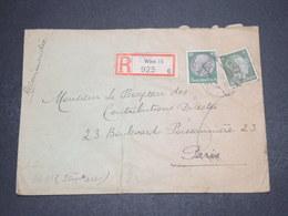 ALLEMAGNE - Enveloppe De Wien Pour La France En 1942 Avec Contrôle Postal - L 16216 - Allemagne