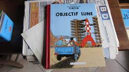 TINTIN OBJECTIF LUNE  FAC SIMILE  HERGE - Tintin
