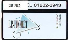 Telefoonkaart  LANDIS&GYR  NEDERLAND * RCZ.349  248a *  E.P.-Project * TK * ONGEBRUIKT * MINT - Nederland