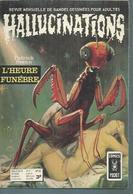 HALLUCINATIONS   N° 22  - Patrick SVENN  - AREDIT 1973 - Hallucination