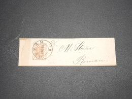 ROUMANIE - Entier Postal ( Bande Journal ) Voyagé En 1901 - L 16227 - Ganzsachen