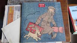 TINTIN CALENDRIER 2016  HERGE - Tintin