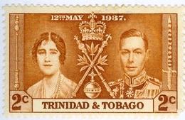TRINIDAD & TOBAGO, INCORONAZIONE, 1937, FRANCOBOLLI NUOVI (MLH*) Mi 129   Scott 48 - Trindad & Tobago (...-1961)