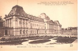 Bruxelles - CPA - Brussel - Le Palais Royal - Monuments, édifices